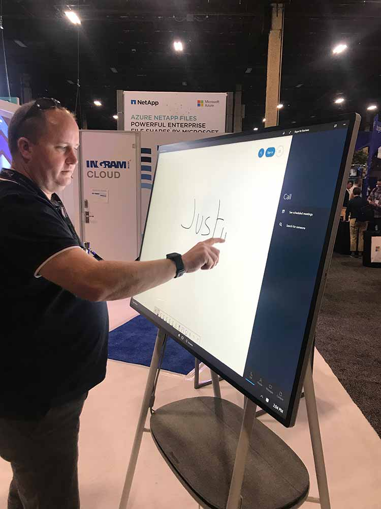 Just on the new Surface Hub 2S