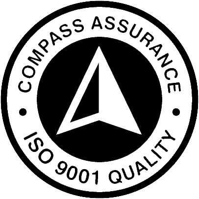 Compass Assurance logo for ISO 9001 Quality